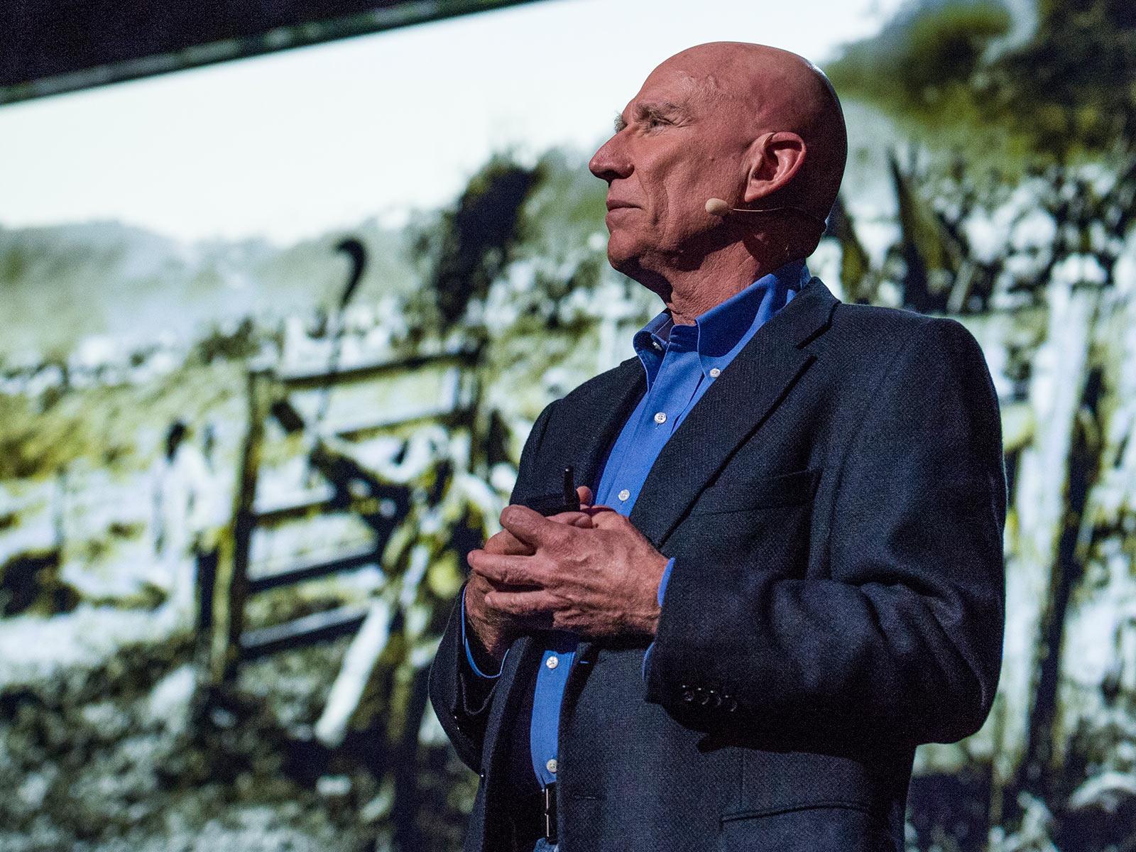 Sebastião Salgado kalba TED konferencijoje