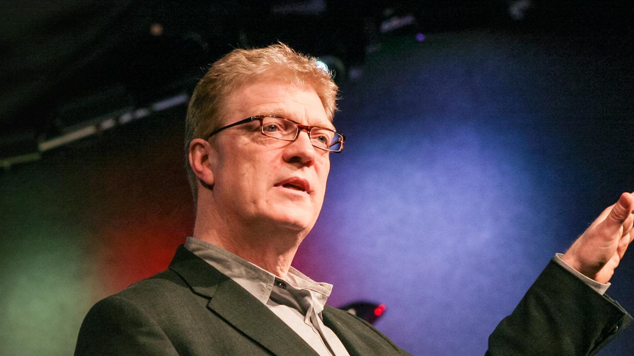talks robinson says schools kill creativity