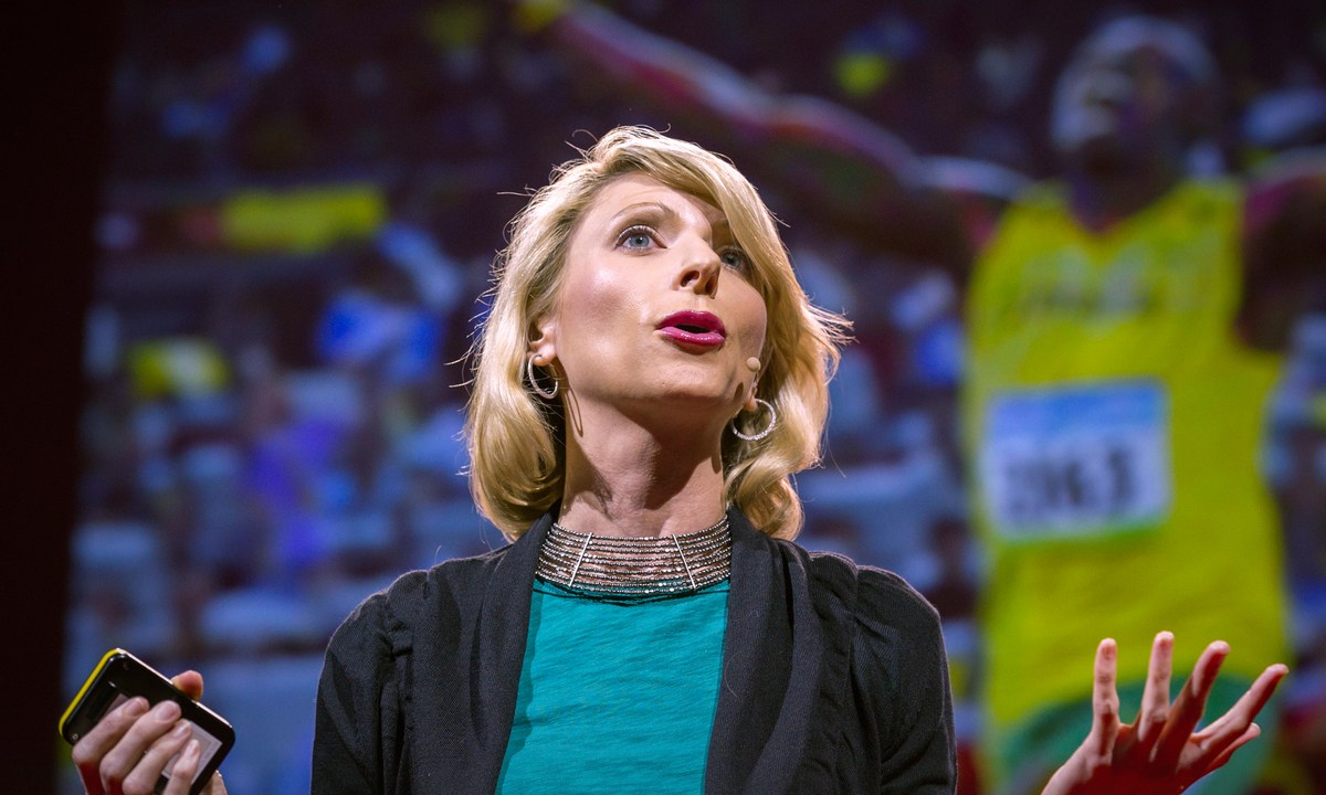 """Body language affects how others see us, but it may also change how we see ourselves. Social psychologist Amy Cuddy shows how """"power posing"""" --..."""