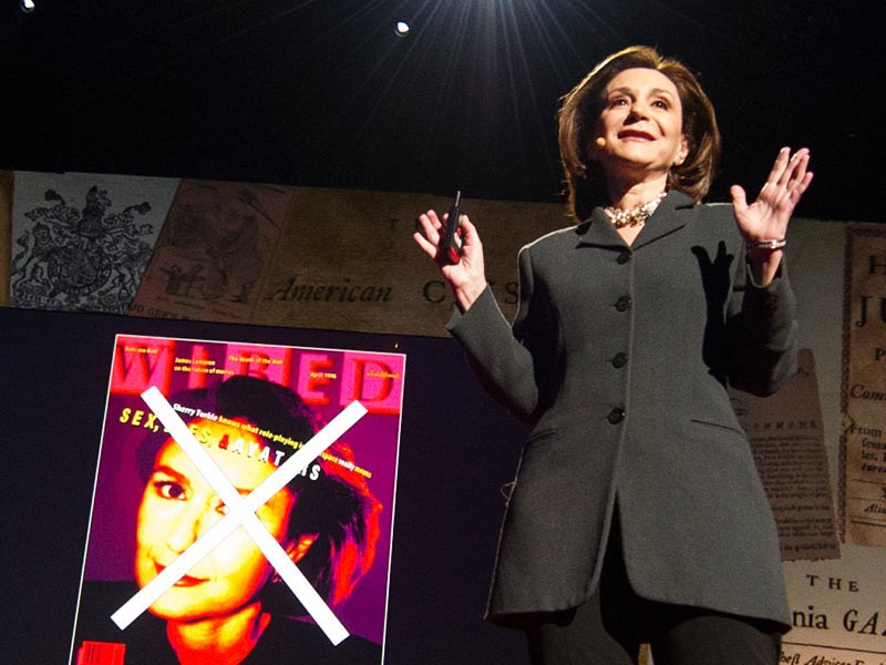 Sherry Turkle: Connected, but alone? | Talk Video | TED.com
